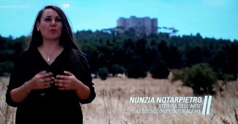 Sky Arte con l'associazione H1 a Castel del Monte