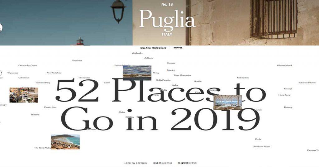Puglia per il New York Times
